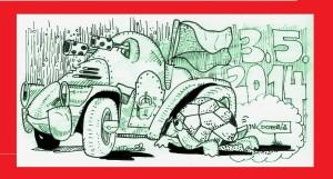 želva vs